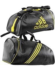 Bolsa Mochila Adidas Training 2in 1m BLACK-YELLOW