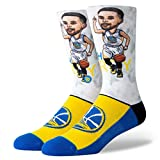Stance NBA Golden State Warriors Curry Big Head Chaussettes Homme Multicolore 38-42 EU