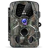 """Victure Wildkamera Fotofalle 1080P Full HD 12MP 120°Weitwinkel Vision Infrarote 20m Nachtsicht Wasserdichte IP66 Überwachungskamera mit 2.4"""" LCD Display für Haussicherheitsüberwachung und Outdoor"""