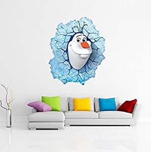 F&H Wall Sticker La Reine des neiges Sticker mural Motif Elsa