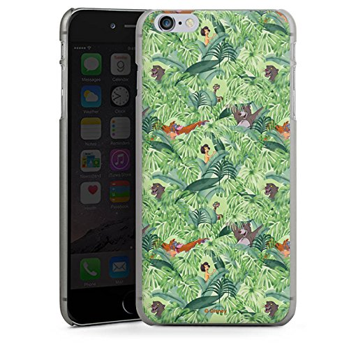 Apple iPhone X Silikon Hülle Case Schutzhülle Dschungelbuch Muster Disney Hard Case anthrazit-klar
