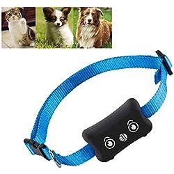 AINGOL Rastreador GPS para Mascotas, Rastreador GPS para Perros y Accesorio para Collar del buscador de Mascotas, Localizador a Prueba de Agua, Dispositivo de Seguimiento para Perros, Gatos