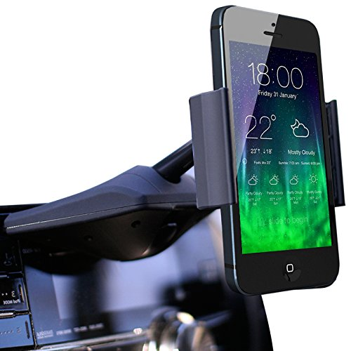 Koomus CD-Air CD Slot Smartphone Car Mount Holder Cradle for All iPhone and Android Devices Amazon Rs. 3351.00