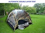 #7: 7Trees Automatic Quick Setup 4-Person Double Layer All Season Camping Tent