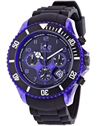 Ice-Watch - 000681 - ICE chrono electrik - Black Purple - Extra large - Chrono