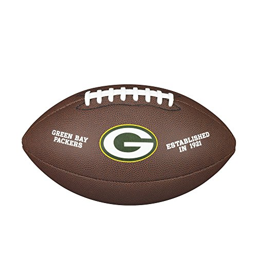 Wilson NFL Green Bay Packers Full Size Composite Football by Wilson