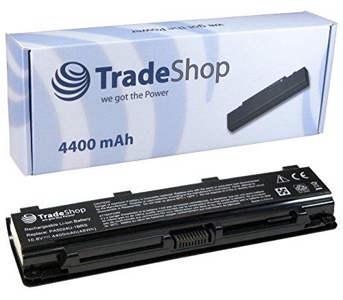 Akku 4400mAh 10,8V/11,1V für Toshiba Satellite Pro C800 C805 C840 C845 C850 C855 C870 C875 L800 L805 L830 L835 L840 ersetzt PA5023U PA5024U PA5025U PA5026U PA5027U PABAS259 PABAS260 PABAS261 PABAS262 PABAS263 (Laptop Toshiba Satellite Pro C840)