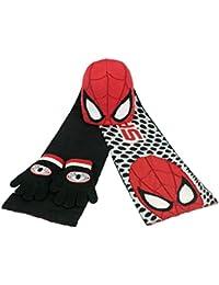 Set bufanda gorro guantes Spiderman Marvel 52-54