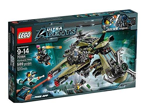 LEGO Agents - 70164 - Jeu De Construction - Le Vaisseau De...