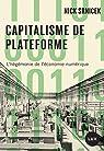 Capitalisme de plateforme par Srnicek