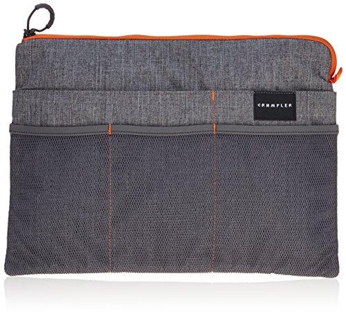 Crumpler Shuttle Delight Laptop Pocket Sleeve SDLPS13-001 Tasche 13 Zoll Aktentasche, 38 cm, Grau