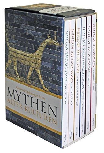 Reclams Einführungen in die Mythen alter Kulturen: 6 Taschenbücher in Kassette (Reclam Taschenbuch, Band 30052)