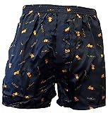 Sendung mit der MAUS BOXERSHORTS Herren Boxers Shorts Unterhosen Boxershorts, Farbe:4. Sleep/Schwarz;Größe:XS