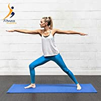 Fitness Mantra Yoga Mat for Gym Workout and Yoga Exercise with 4 mm Thickness, Anti-Slip Yoga Mat for Men & Women Fitness |Qnty.-1 Pcs.|Color-Blue