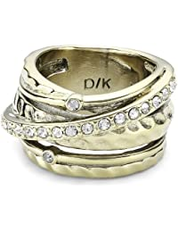 Dyrberg/Kern Damen-Ring WENDOLYN SG CRYSTAL