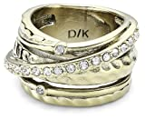 Dyrberg/Kern Damen-Ring WENDOLYN IIII SG CRYSTAL 332753