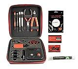 Coil Master 100% authentische DIY KIT V3 Tool SET mit spätesten Spule Jig (V4) / 521 Tab Mini-Ohm-Leser / Pinzette / hitzebeständige Draht NEUESTE Tool Kit, exklusive LifeMods Bundle Edition!