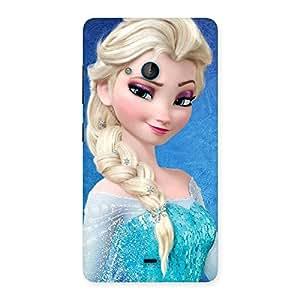 Gorgeous Premier Princess Wink Multicolor Back Case Cover for Lumia 540