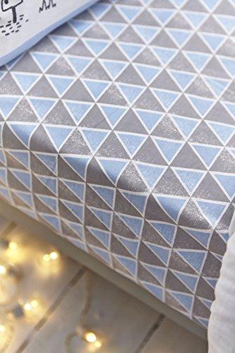 nordica-bianca-cotone-morbido-cotone-stampa-singolo-con-angoli-colore-blu