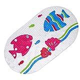 Mehrzweck-Badematte / PVC-Material für Badewannenmatte Nicht Beleg-Matten für Kinder u. Dusche Badezimmer-Sicherheit Muster von SHARLLEN