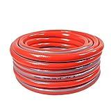Wddwarmhome G1/2 Tubature ad acqua per irrigazione Tubo ad alta pressione Plastica Versare Terra Versare Verdure 1m