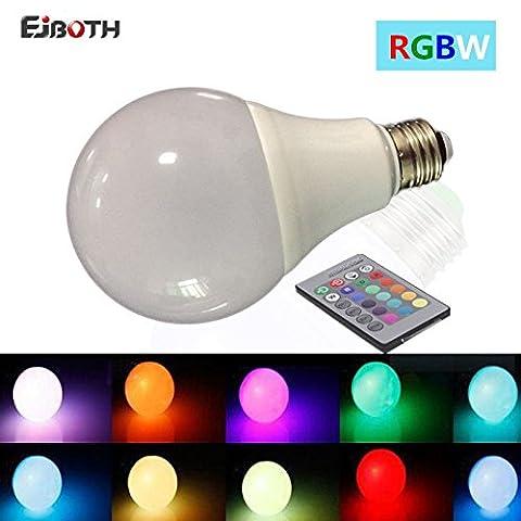 EJBOTH E27 Smart RGBW Ampoule LED, Mini Nuit Lumière LED