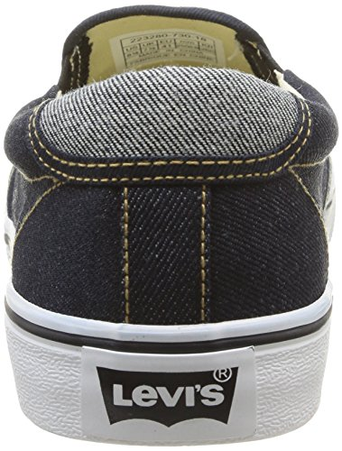 Levi's Original Red Tab Slip On, Baskets mode homme Bleu (18)