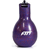 FTM Wizzball Handpfeife Lila Flitter zum drücken, hygienisch