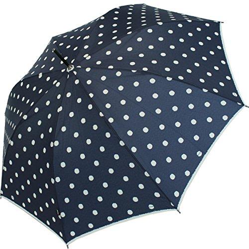 knirps-parapluie-cannes-longueur-88cm-ouverture-automatique-motifs-a-poids-bleu-marine