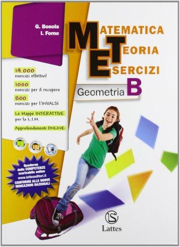 Matematica teoria esercizi. Geometria. Per la Scuola media. Con espansione online: 2