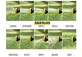 CLEARANCE SALE Garten Handbrause, Hochdruck Gartenbrause / Garten-Spritzpistolen - 9 -fach verstellbar - Robust und Leistungsstark für Autowaschanlagen, Garten Bewässerung
