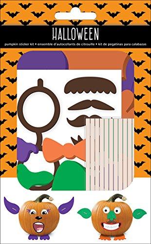 (American Crafts 376624Kürbis Halloween Sticker Kit Kürbis 115piece)