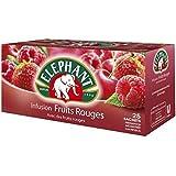 Lipton eléphant infusion fruits rouges 25 sachets 45g Envoi Rapide Et Soignée ( Prix Par Unité )