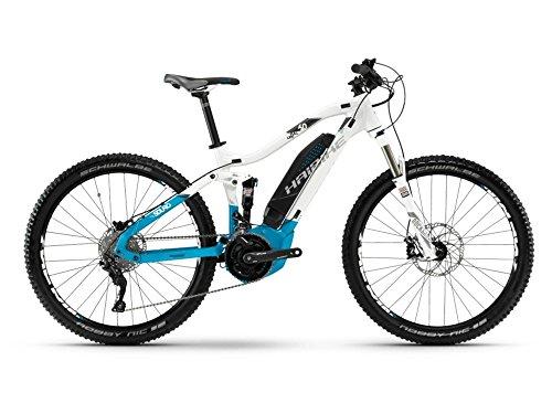 Haibike SDURO FullLife 6.0 E-Bike 500Wh E-Mountainbike weiß/blau/anthrazit