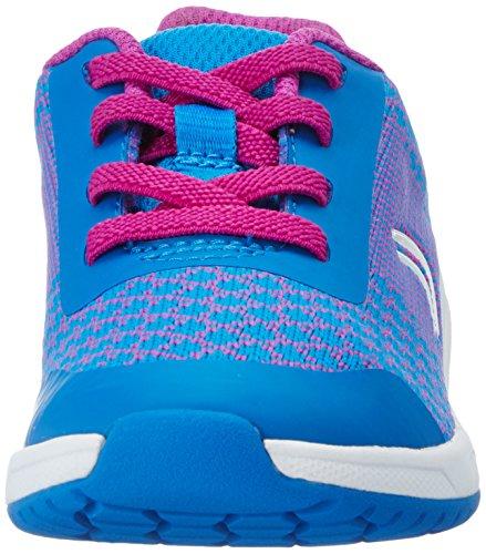 Clarks - Frisby Fun Inf, Scarpe da ginnastica Bambina Blu (Blue Combi)