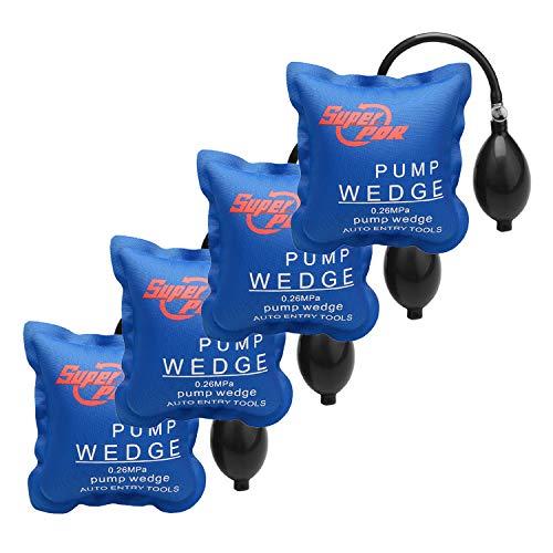 4 Pcs Air Wedge FLY5D Pompe à air Coussin gonflable en Plastique Air Pump Wedge Up Outil Alignement Outil Inflatable Shim Coussiné Puissant