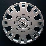 Wheeltrims Set de 4embellecedores nuevos para Citroen C4/C1/C2/C3/C5/C8/Nemo/Berlingo/Xsara Picasso con llantas originales de 15'