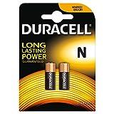 Duracell Specialty N Alkaline Batterie 1,5V, 2er-Packung (E90/LR1) entwickelt für die Verwendung in Taschenlampen, Taschenrechnern und Fahrradlichtern.