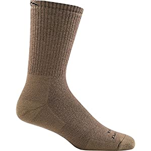 512xMmsEqmL. SS300  - Darn Tough Tactical Boot Extra Cushion Sock - Coyote Brown X-Large