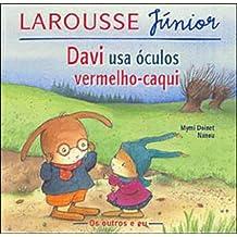 Davi Usa Óculos Vermelho-Caqui (Em Portuguese do Brasil)