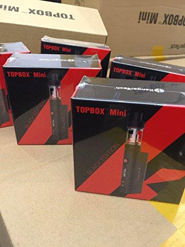 Authentisch Kanger Kangertech Topbox Mini Schwarz 75W Starter Kit (Subox Mini Upgrade-Ausgabe) 100% ursprüngliche echte Kangertech Verdampfer Null Nikotin E-Zigarette - 3