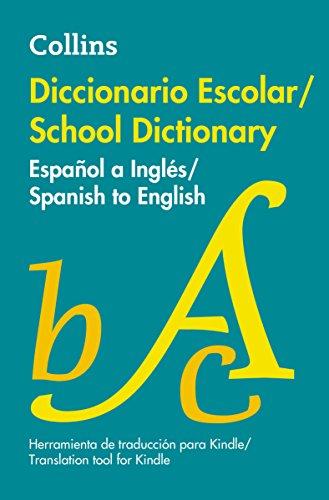 Diccionario Escolar Espanol a Ingles por Collins