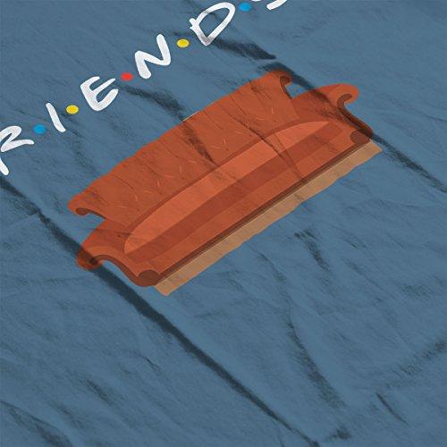 Friends Sofa Women's Hooded Sweatshirt Indigo Blue