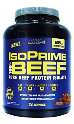 IsoPrime 100% Beef, Strawberry - 1957 grams by MHP by MHP