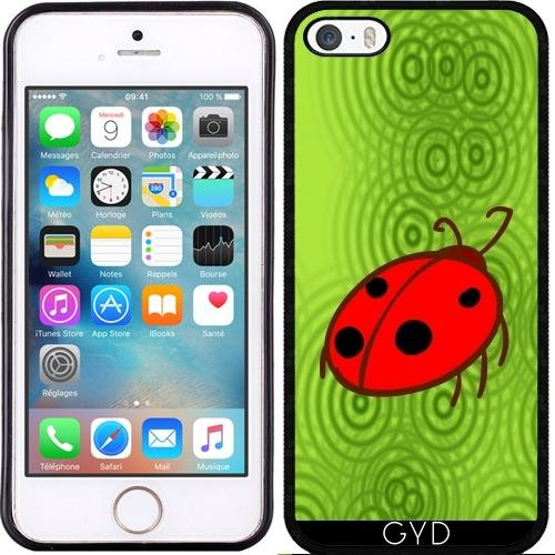 Coque pour Iphone SE - Coccinelle by hera56 Silicone