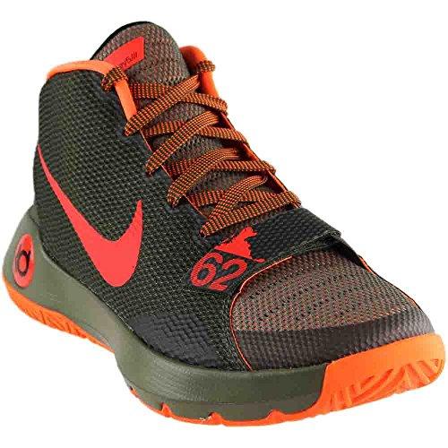 Nike Performance KD Trey III Chaussures de Basketball - - MDM OLV/Brght CRMSN-CRG KHK-TT, 45.5