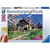 Ravensburger Gold Edition Country Cottage 300pc Jigsaw Puzzle with Large Pieces