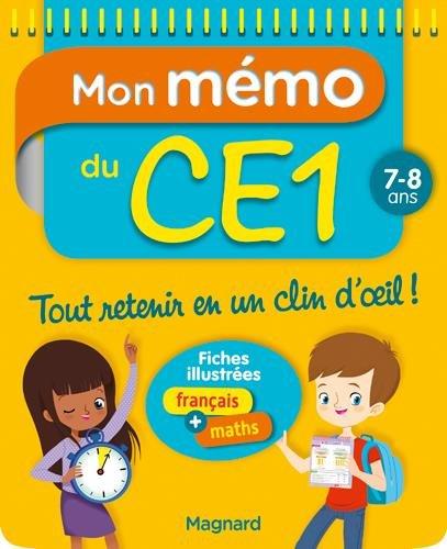 Mon Memo du CE1 7 8 Ans