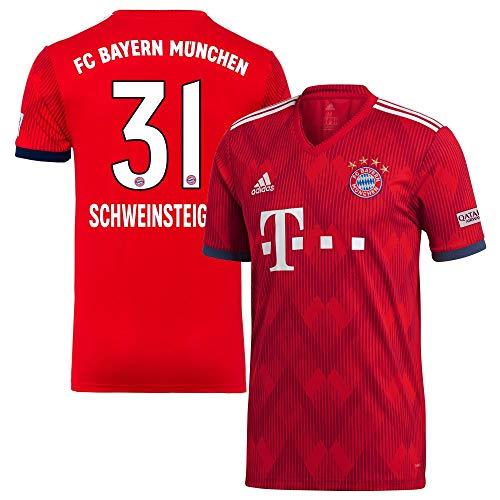 Bayern München Home Trikot 2018 2019 + Schweinsteiger 31 - S