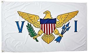 Online-Shops USA Jungferninseln Flagge, 3von 5Fuß